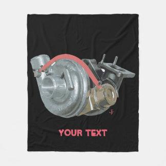 Turbocharger Fleece Blanket