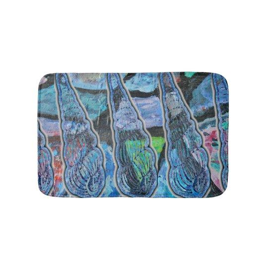 Turbonella Shell Pattern Bath Mat