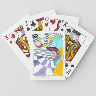 Turbulence Dala Art - Playing Cards