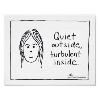 Turbulent Inside Print