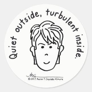 Turbulent Inside Sticker