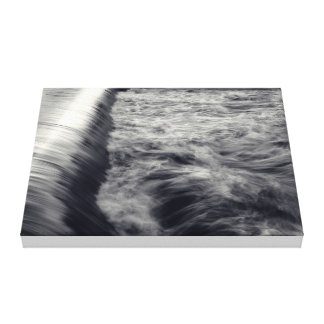 Turbulent Tranquility Gallery Wrap Canvas