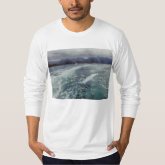 Turbulent wake t-shirts