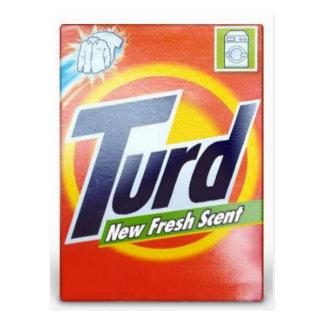 Turd Postcard