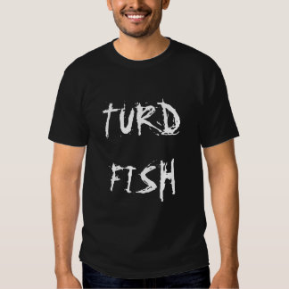 TurdFish Scratched Letters T-Shirt