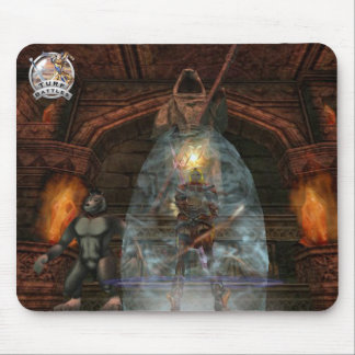 Turf Battles Buffed Red Mage Mouse Pad