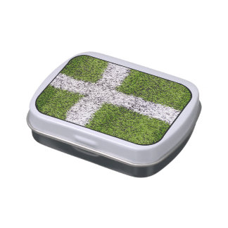 Turf cross jelly belly candy tin