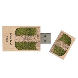 Turf cross wood USB 3.0 flash drive