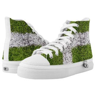 Turf cross printed shoes