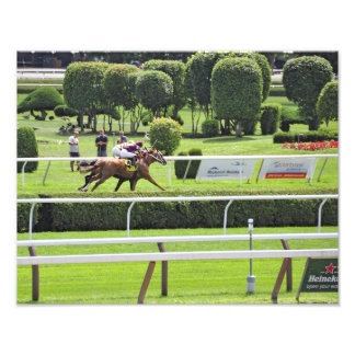 Turf Racing at Saratoga Photograph