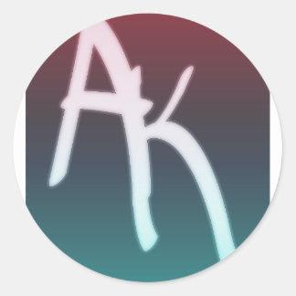 Turf Up-Apexkrotes(l-I-T) Round Sticker