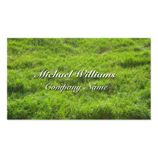 TURF VERDE GRASS PACK OF STANDARD BUSINESS CARDS