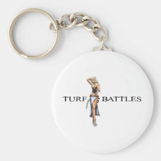Turfbattles Female Nephilim Light Basic Round Button Key Ring