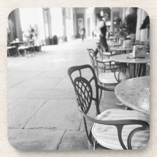 Turin Italy, Cafe and Archway Drink Coasters