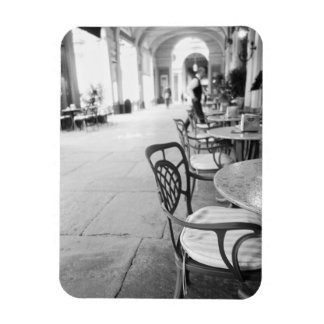 Turin Italy, Cafe and Archway Rectangular Photo Magnet