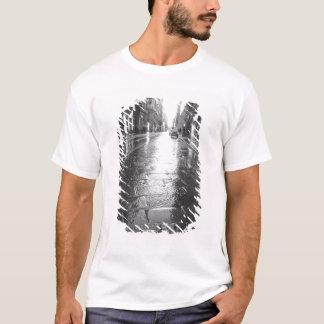 Turin Italy, Wet Street Evening T-Shirt