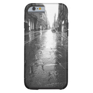 Turin Italy, Wet Street Evening Tough iPhone 6 Case