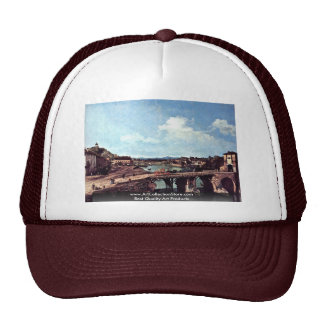 Turin View From The Northeast Trucker Hats
