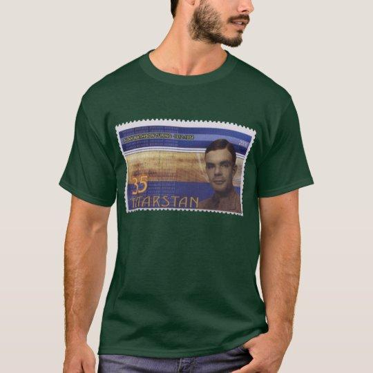 Turing Postage Stamp T-Shirt