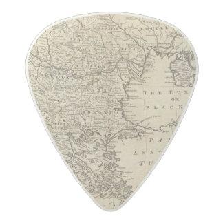 Turkey 2 acetal guitar pick