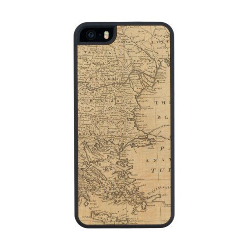 Turkey 2 carved® maple iPhone 5 case
