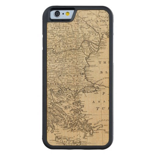 Turkey 2 carved® maple iPhone 6 bumper case