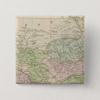 Turkey 3 15 cm square badge