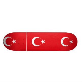 Turkey Alternate Turkey flag Skateboard Deck