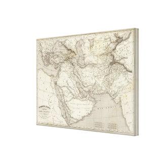 Turkey and Arabia Canvas Print
