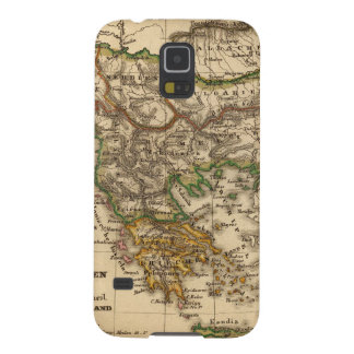Turkey and Greece Map Galaxy S5 Cover