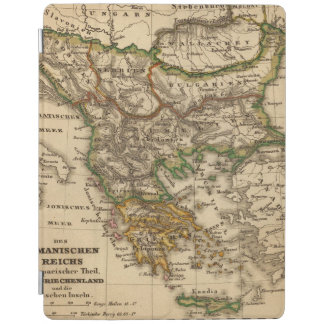 Turkey and Greece Map iPad Cover