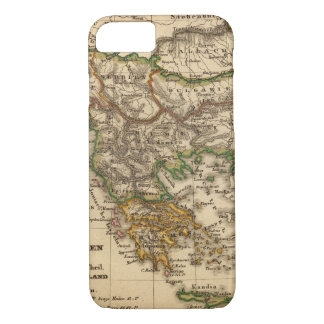 Turkey and Greece Map iPhone 7 Case