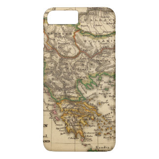 Turkey and Greece Map iPhone 8 Plus/7 Plus Case