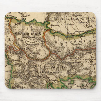 Turkey and Greece Map Mouse Mat