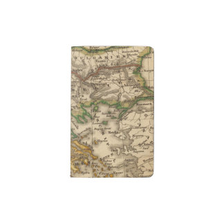 Turkey and Greece Map Pocket Moleskine Notebook