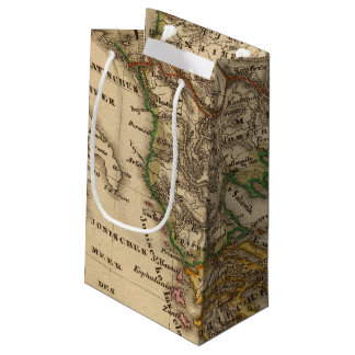 Turkey and Greece Map Small Gift Bag
