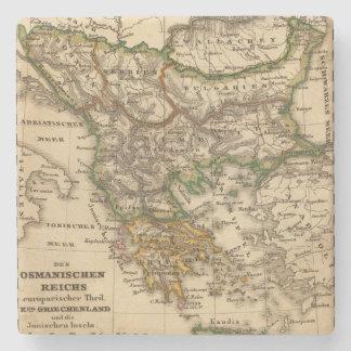 Turkey and Greece Map Stone Coaster