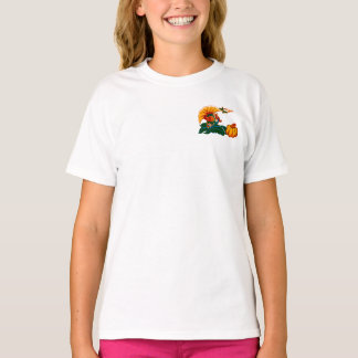 Turkey and Pumpkin Thanksgiving Gift T-Shirt