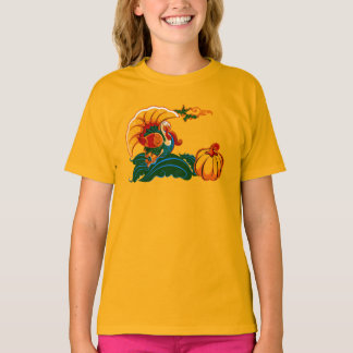 Turkey and Pumpkin. Thanksgiving Gift T-Shirts