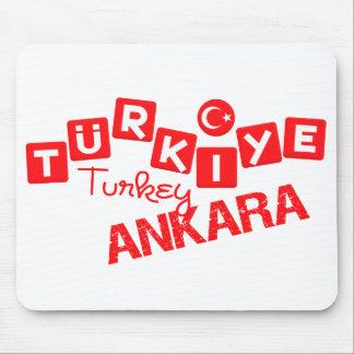 TURKEY ANKARA mousepad - customize