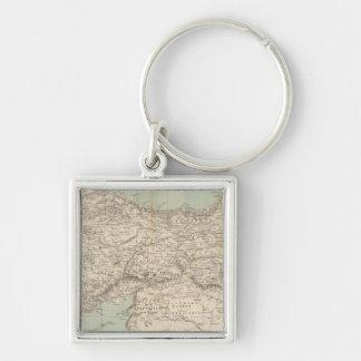 Turkey Atlas Map Key Ring