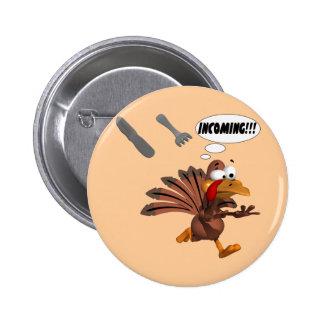Turkey Attack Pin