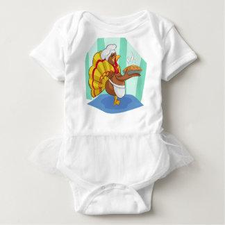 turkey baby bodysuit