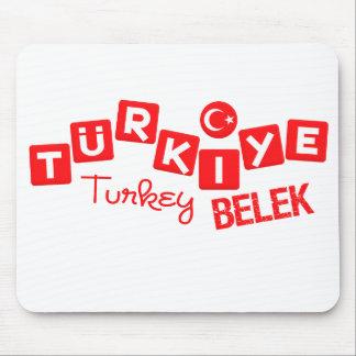 TURKEY BELEK mousepad - customize