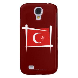Turkey Brush Flag HTC Vivid Covers