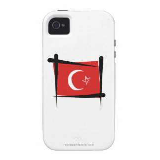 Turkey Brush Flag iPhone 4/4S Cover