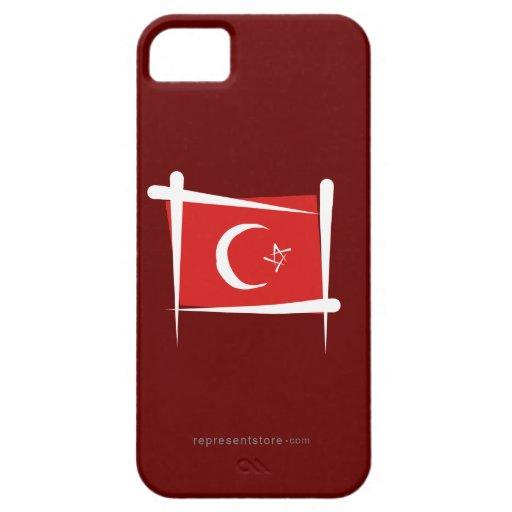 Turkey Brush Flag iPhone 5 Covers