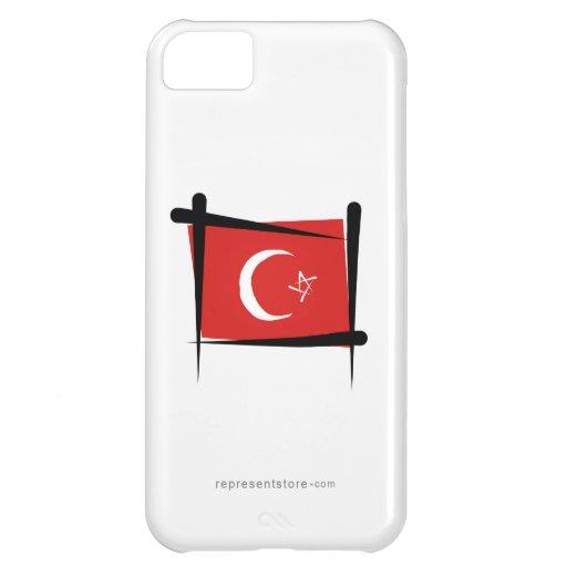Turkey Brush Flag iPhone 5C Covers