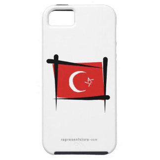 Turkey Brush Flag iPhone 5 Case