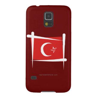 Turkey Brush Flag Samsung Galaxy Nexus Cases